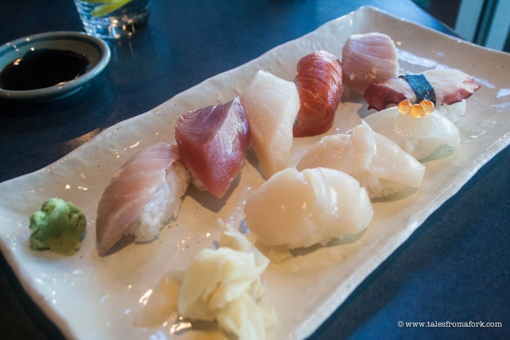 Kaide Sushi is one of three delicious places to eat in Vancouver that you can't miss.
