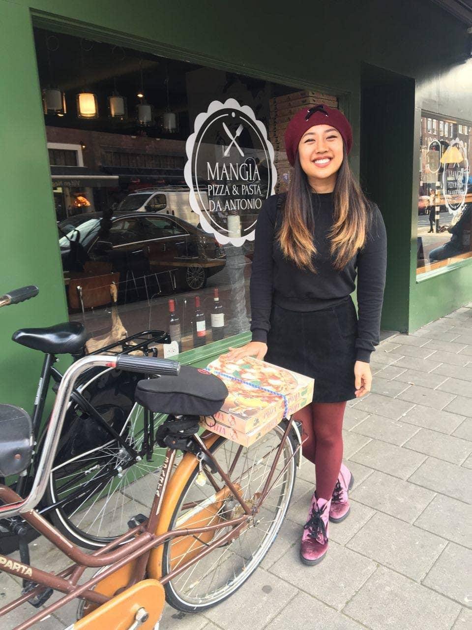 mangia pizza amsterdam