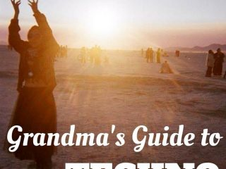 Grandma's Guide to techno parties: Everything you need to know to drink and dance safely for hours on end. www.fromlusttilldawn.com