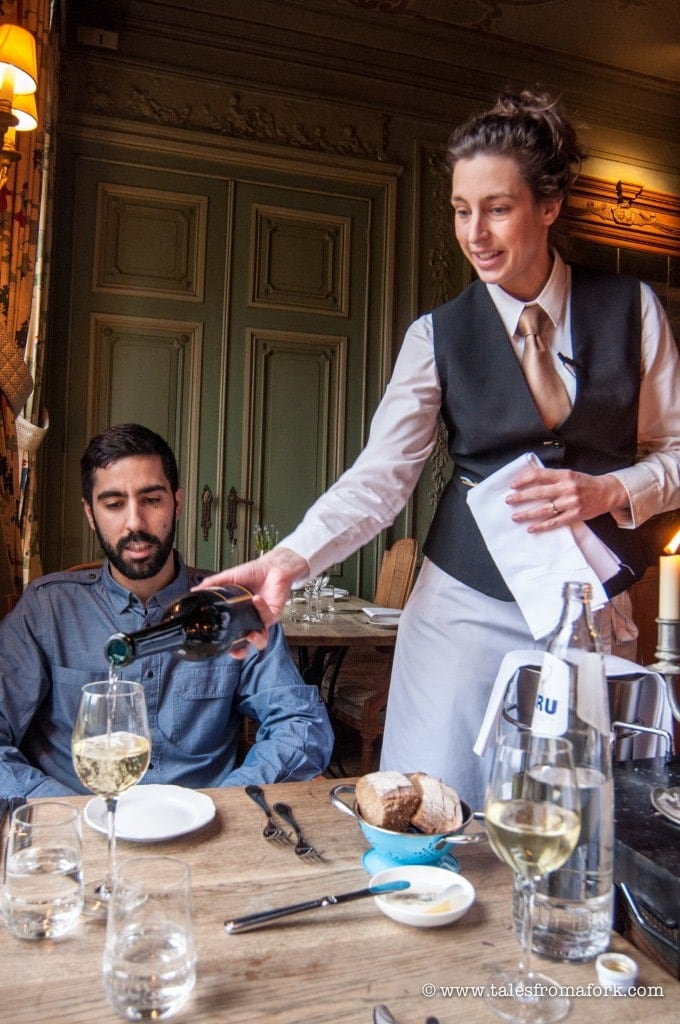3 course lunch with wine pairing at Château St. Gerlach's Bistrot de Liège - Gluten free alternatives & locally sourced food for the win!
