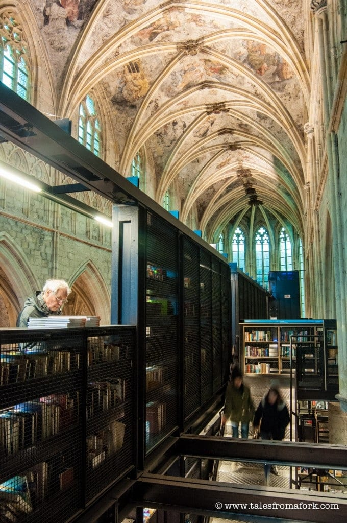 Is Boekhandel Dominicanen the most beautiful bookstore in the world? You tell me by checking out these photos of this bookstore in a 700+ year old church. www.fromlusttilldawn.com