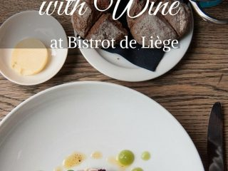 3 course fine dining with wine pairing at Château St. Gerlach's Bistrot de Liège - Gluten free alternatives & locally sourced food for the win!