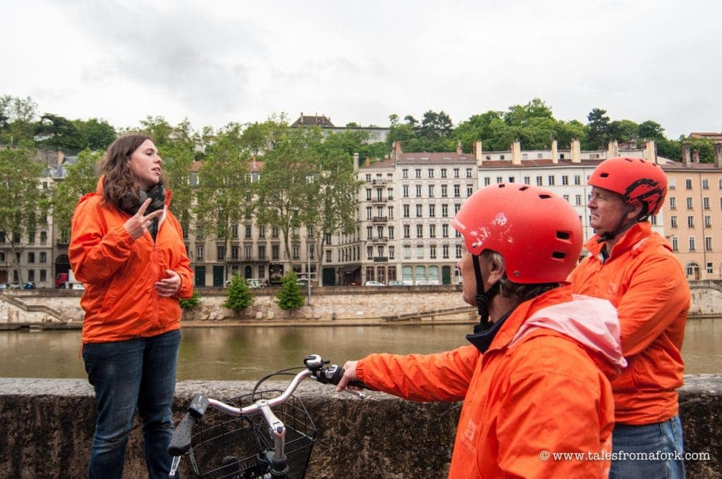 Want both a gourmet culinary tour and a historical tour in Lyon? Get both by going on this food tour in Lyon on electric bikes!