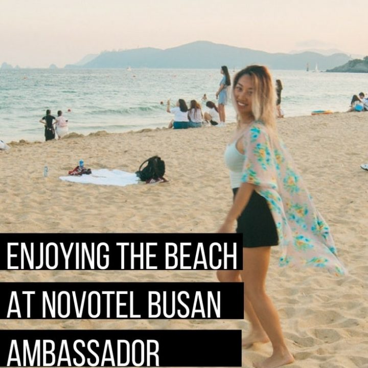 If you want close access to the beach and a great ocean view room, check out Hotel Novotel Busan Ambassador in Busan, South Korea!