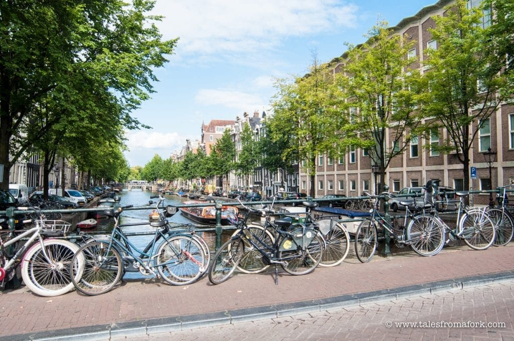 The best way to get around Amsterdam Dance Event (ADE) or Amsterdam is by renting a bike. Rent one from Rent a Bike in Dam Square. Mention my blog to get 10% off. #sponsored