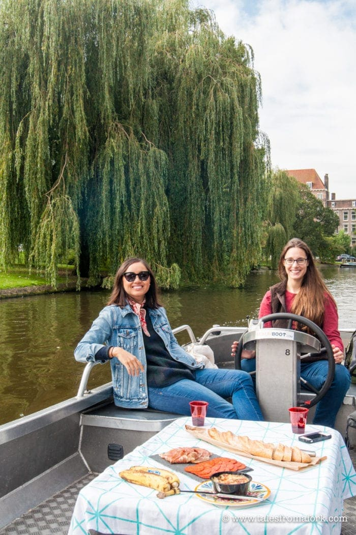 My Favorite Company for a Boat Rental in Amsterdam