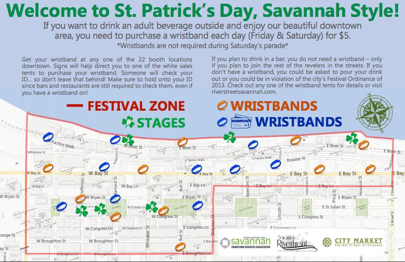 Savannah GA St. Patrick's Day
