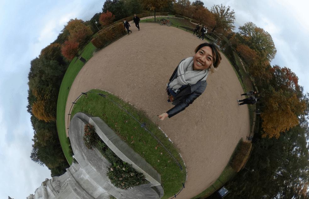 what biking is berlin is like for a tourist, ricoh theta 360 tiergarten berlin germany