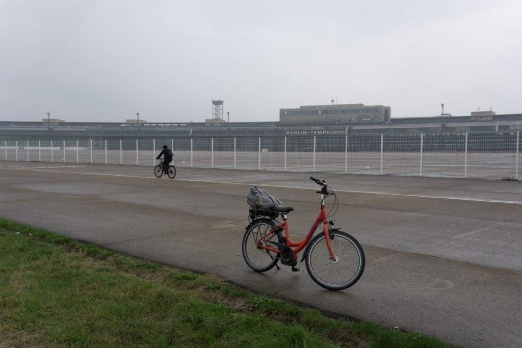 fat tour bike rental berlin germany tempelhof airport park
