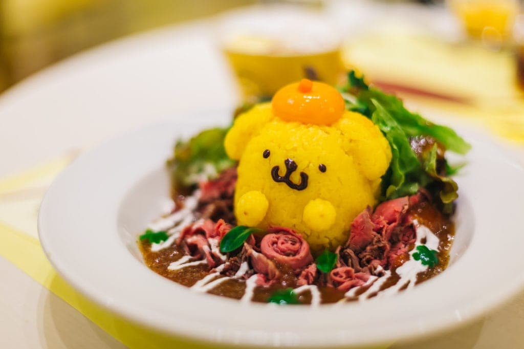 pompompurin japan animal cafes in japan