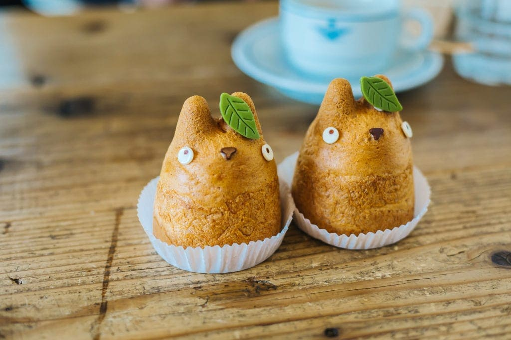 Shirohige's Cream Puff Factory is a cute cafe in Japan.