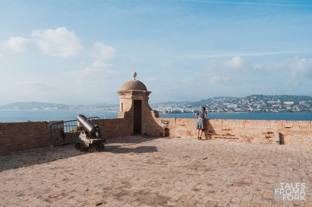 Île Sainte-Marguerite is a place to go in this Cannes travel guide.