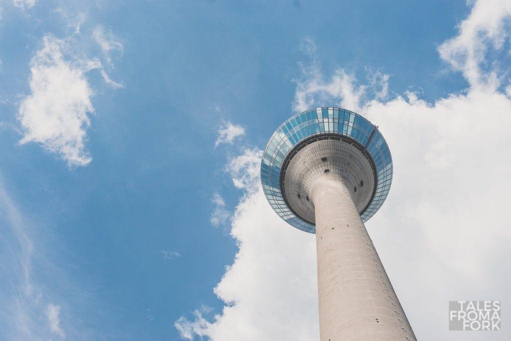 what to do in dusseldorf rheinturm rhine tower