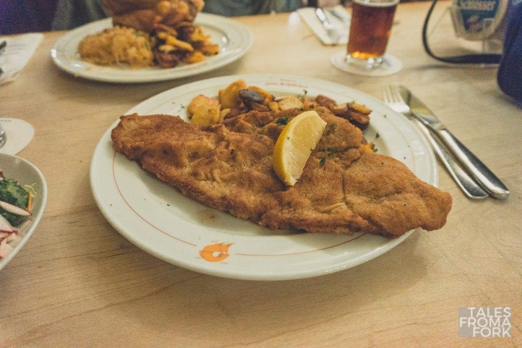Brauerei Schumacher where to eat in dusseldorf traditional german food