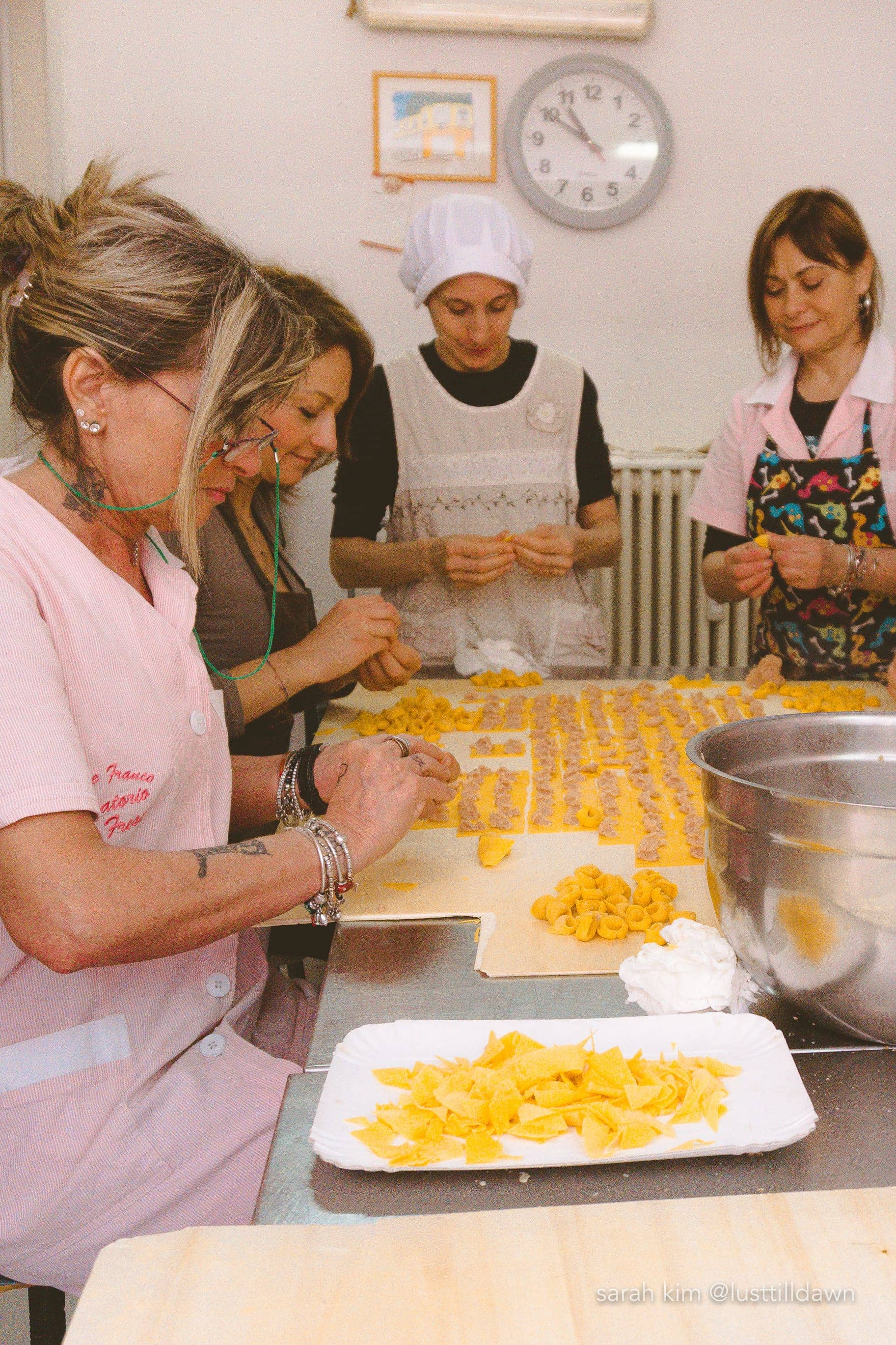 women making pasta pasta factory food tour in bologna delicious bologna food tour lust till dawn