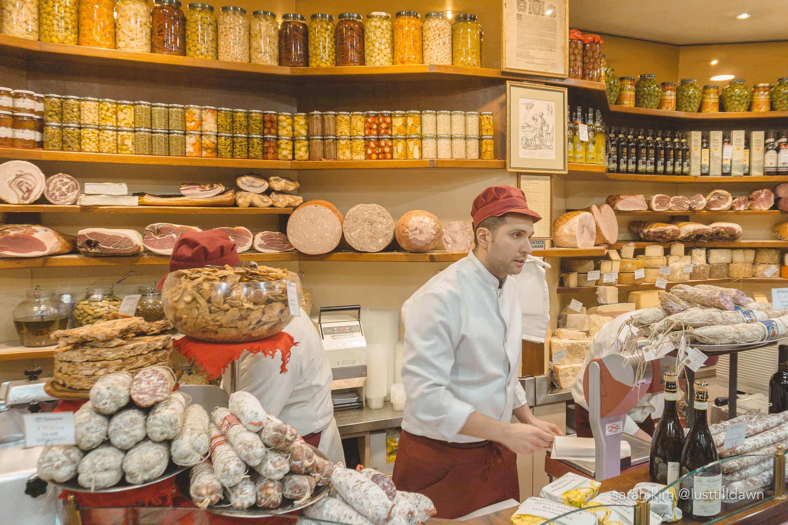 italian cheese store food tour in bologna delicious bologna