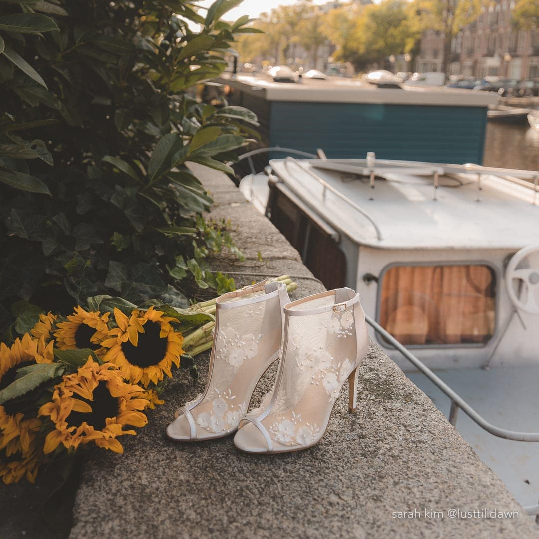 ultimate destination wedding packing list wedding booties comfortable wide feet