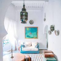 white room checkered floor airbnb fromlusttilldawn.com lust till dawn interior design