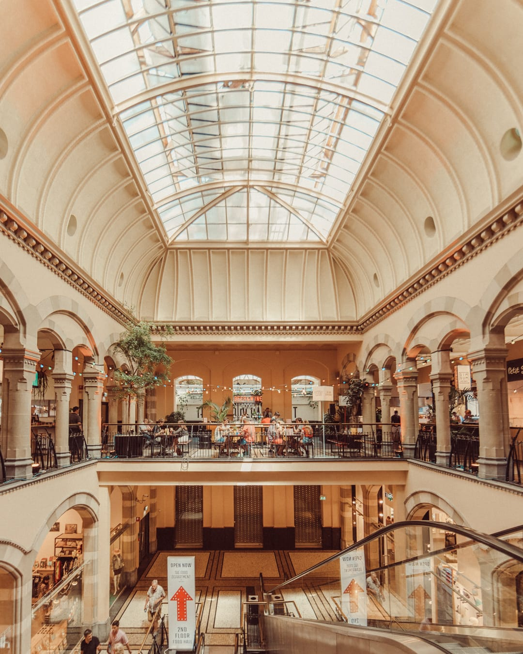 the food department in magna plaza city center amsterdam