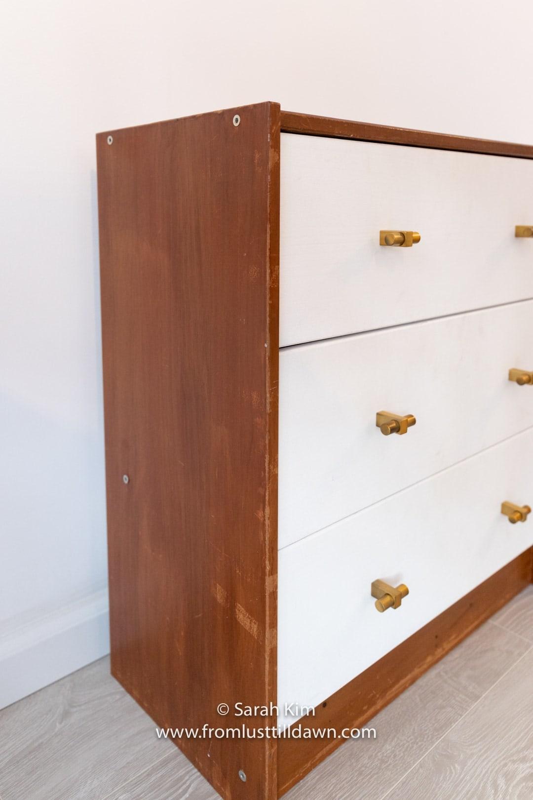 Ikea rast makeover ikea rast nightstand hack ikea rast drawers painted diy ikea rast dresser