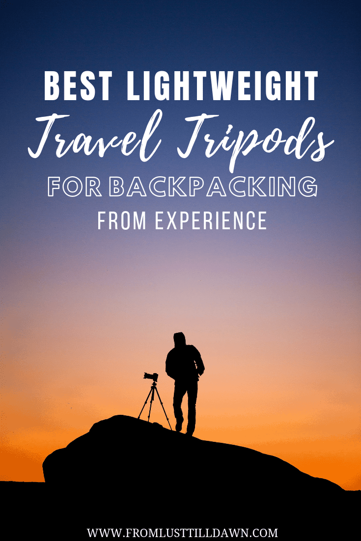 best lightweight travel tripod for backpacking