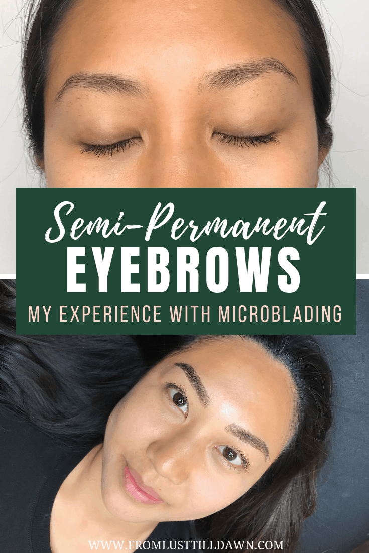 pinterest graphic about microblading in nyc
