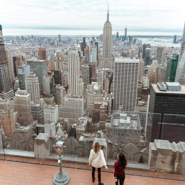 Travel blogger and New Yorker, Sarah Kim of Lust 'Till Dawn, shares her guide for two days in New York City. | view from top of the rock