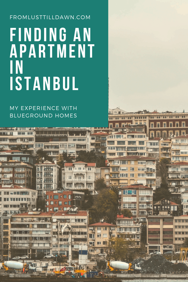 finding an apartment in istanbul pin