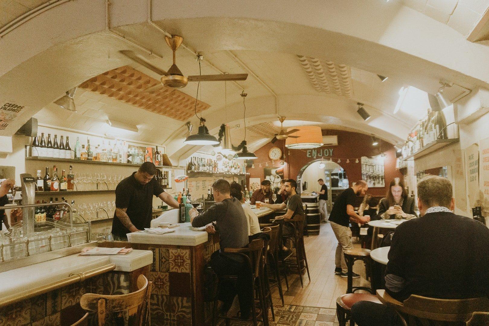 bar del pla, a must eat at restaurant in Barcelona, Spain