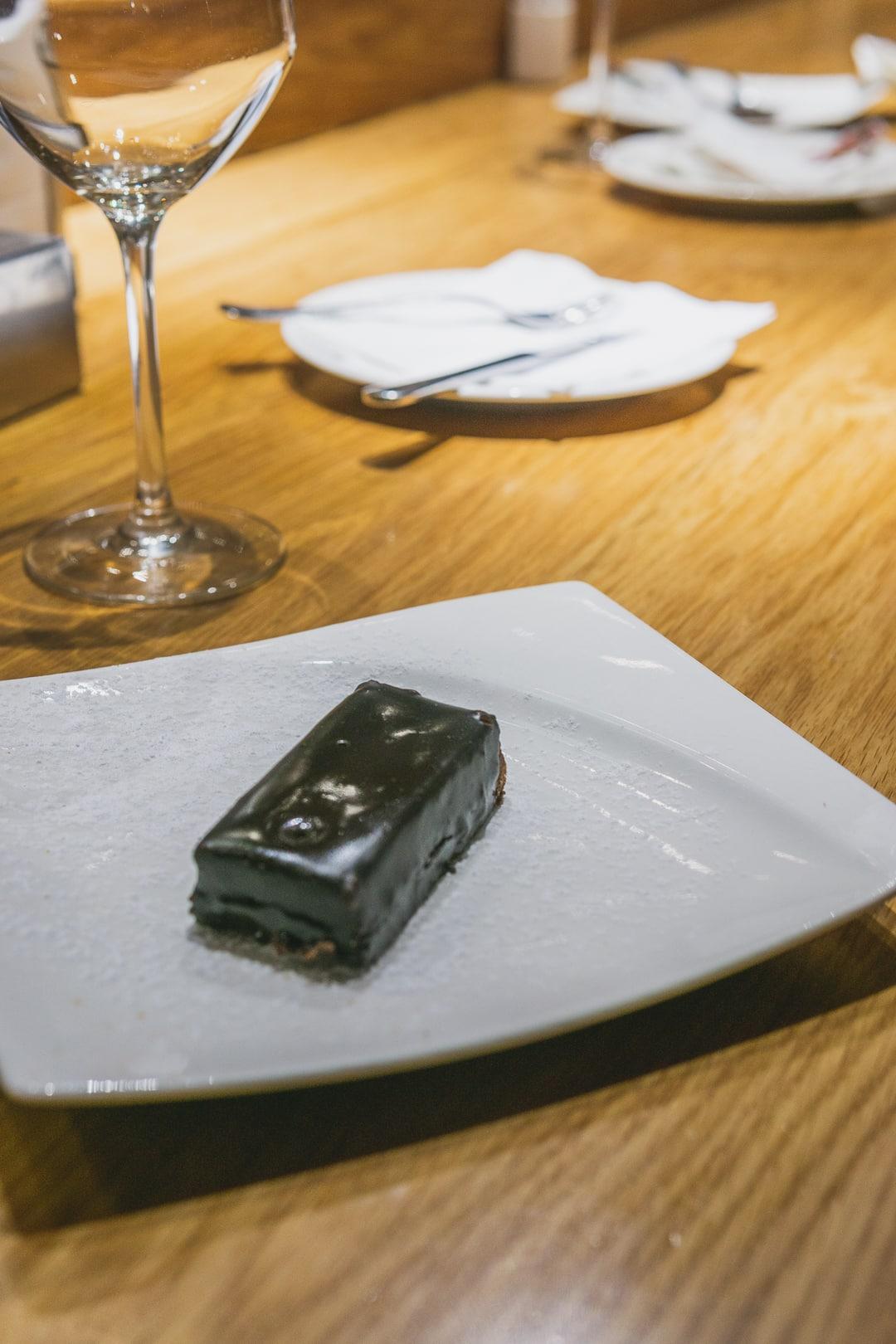 dessert a at Cerveseria Catalana best restaurants in barcelona