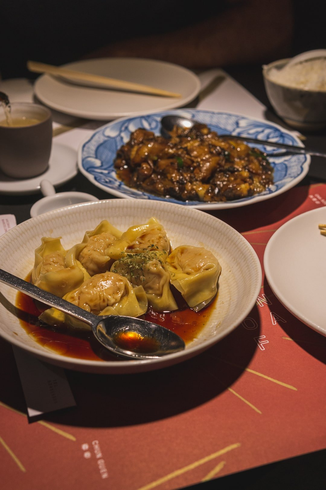 dumplings at out of china, best restaurants in barcelona
