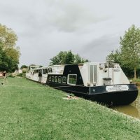 cruising in france // luxury barge french cruises with Grand Victoria