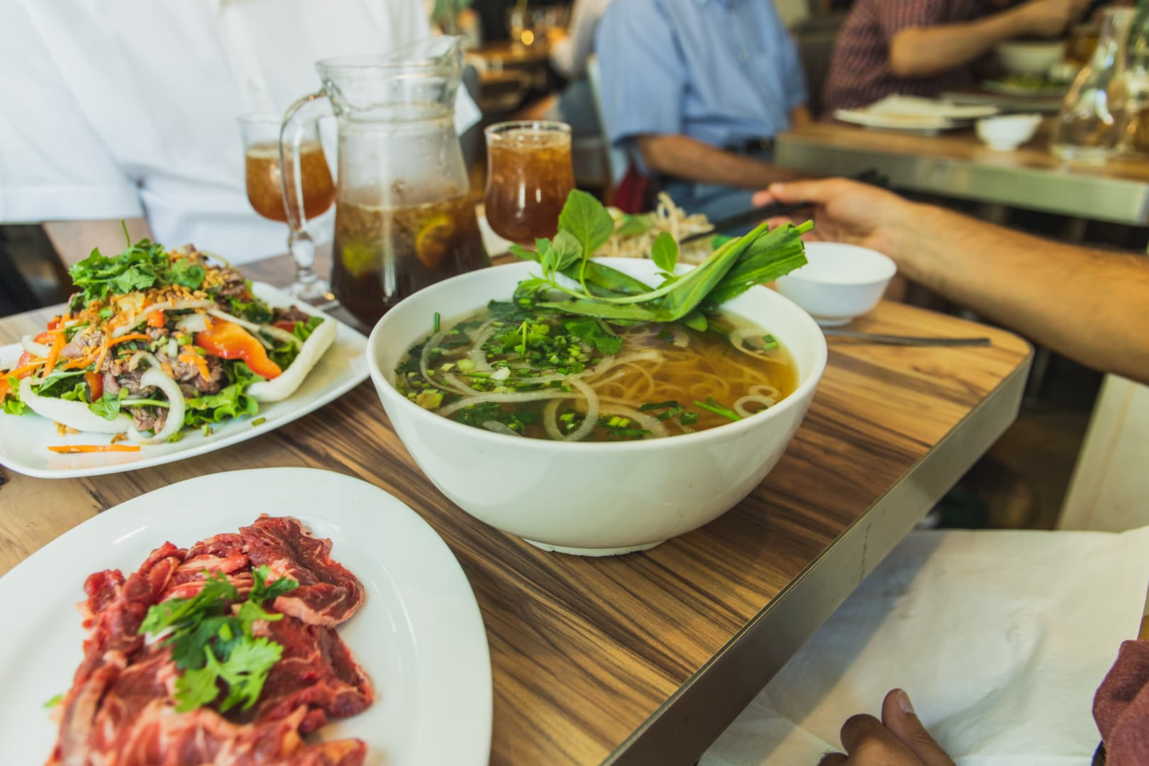 Pho from Pho Bom in Paris  | Off the Beaten Path Paris Guide by www.fromlusttilldawn.com
