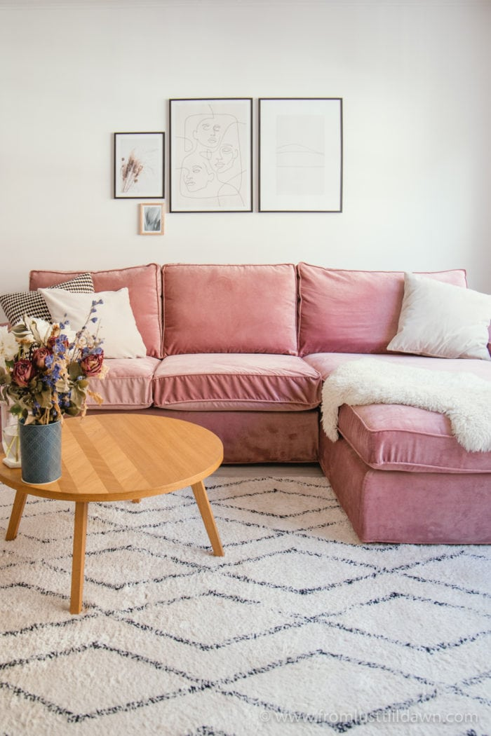 Chic & Cozy Living Room Makeover