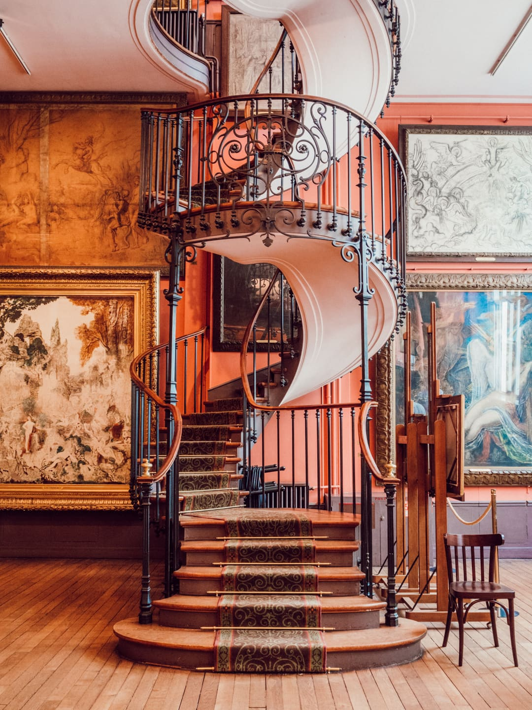 Gustav Moreau museum is part of travel blogger's Off the Beaten Path Paris Guide.