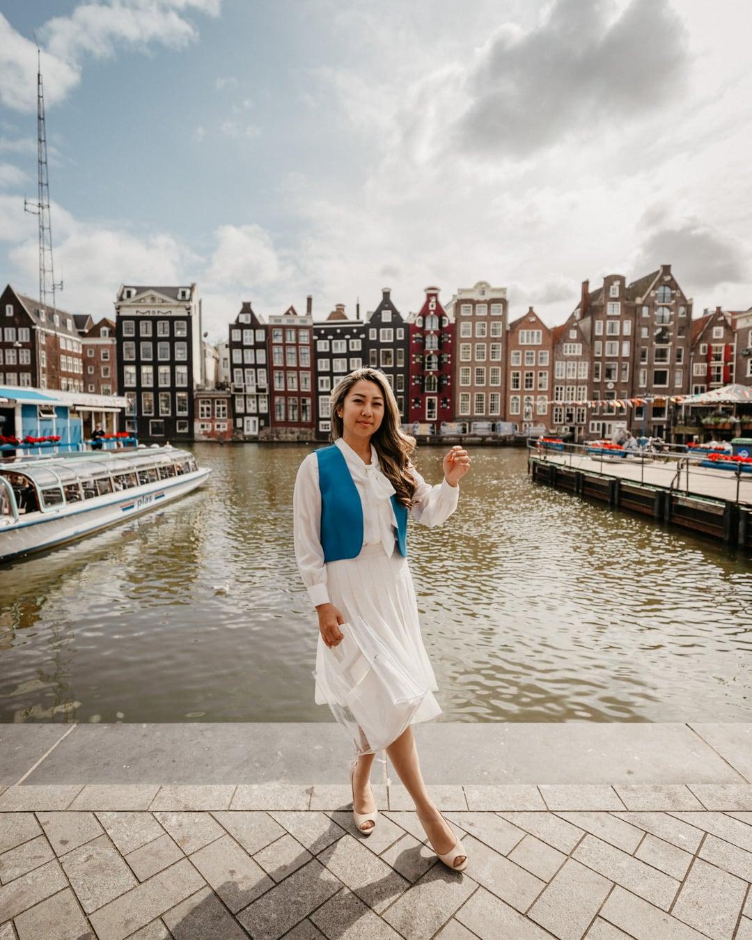 Instagram Amsterdam photo taken at Damrak in Dam Square