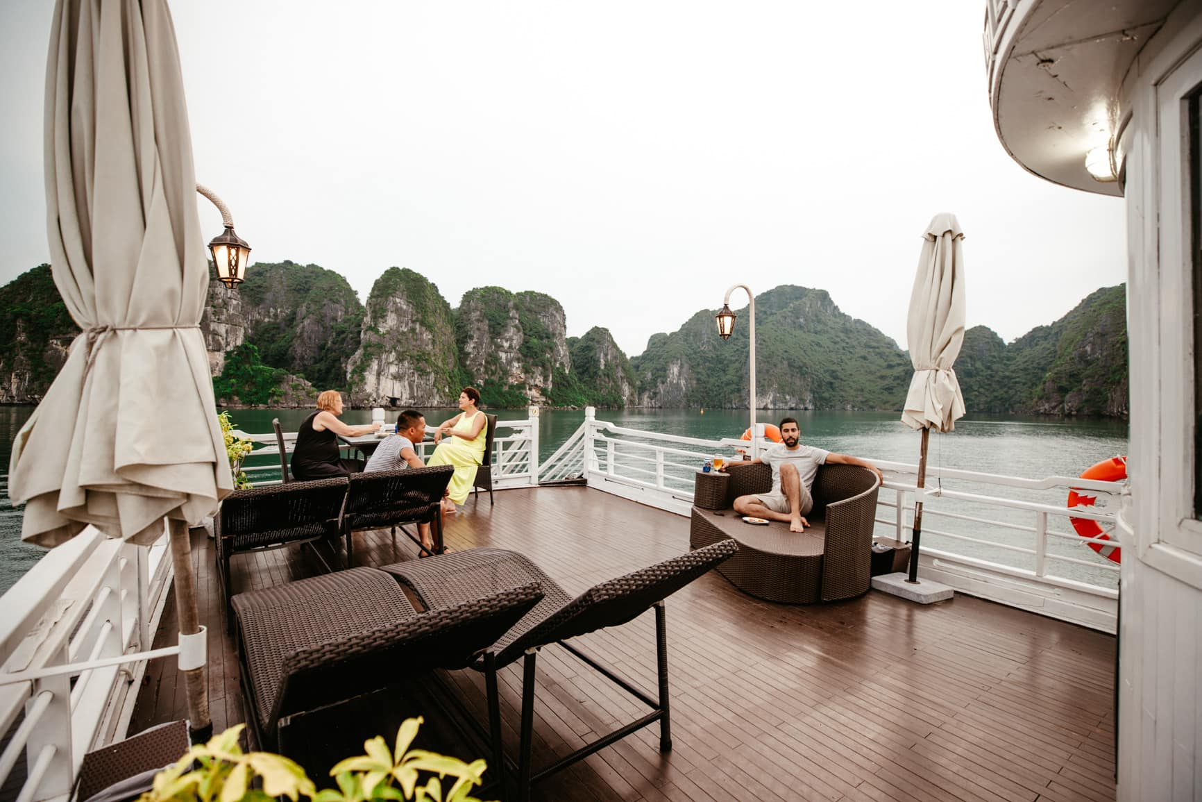 Halong Bay is one of the top places to visit in Vietnam