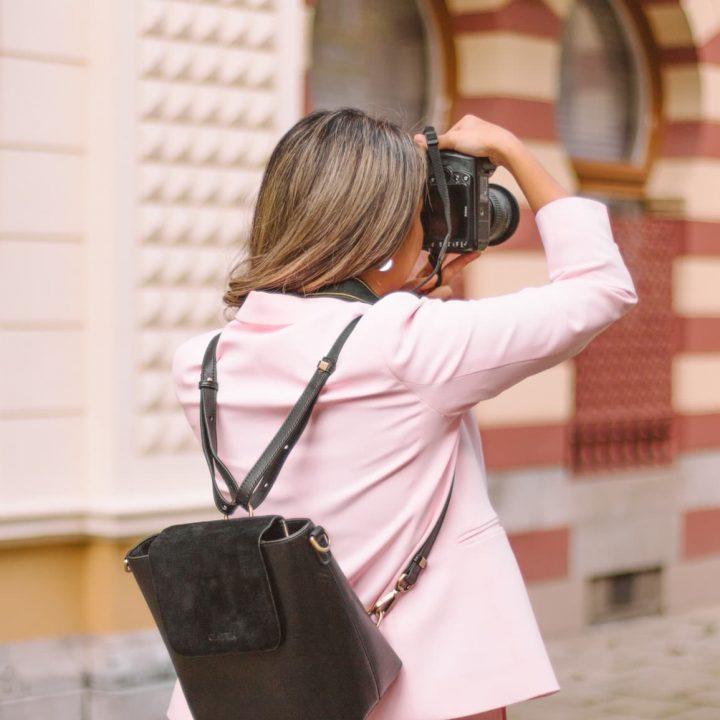 gatta bag chic stylish camera bag christie noir bag