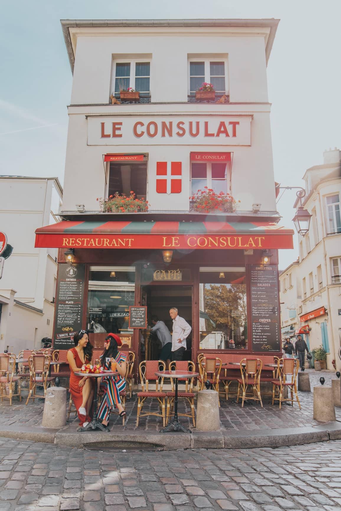 instagrammable places in montmartre paris