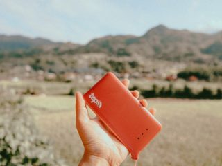 The Tep Travel Wifi device is a great international portable wifi device for travel.