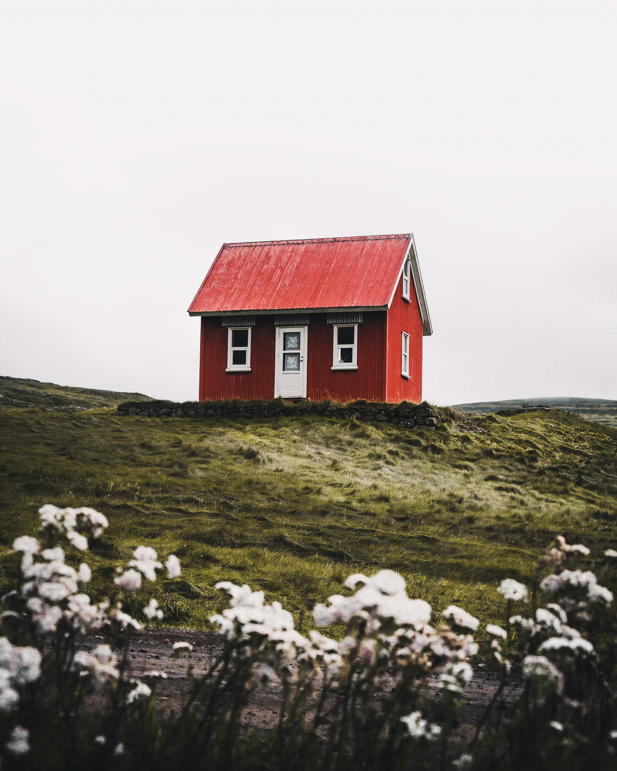 cute home in iceland in july