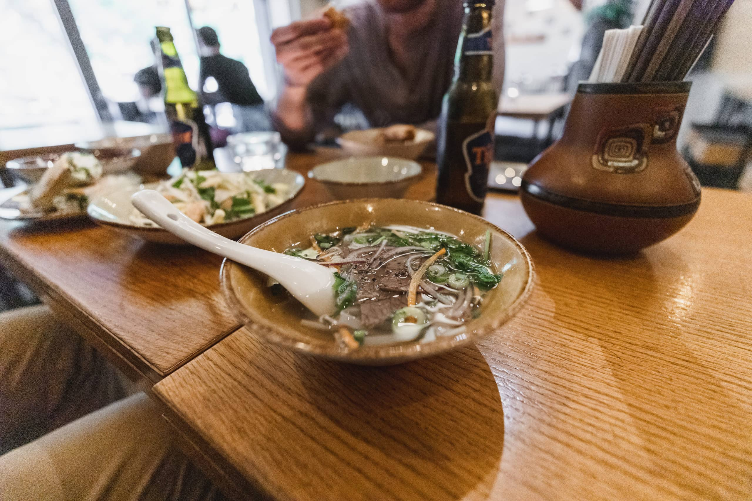 Pho at Vietnam Village is a must visit place if you're wondering where to eat in Berlin.
