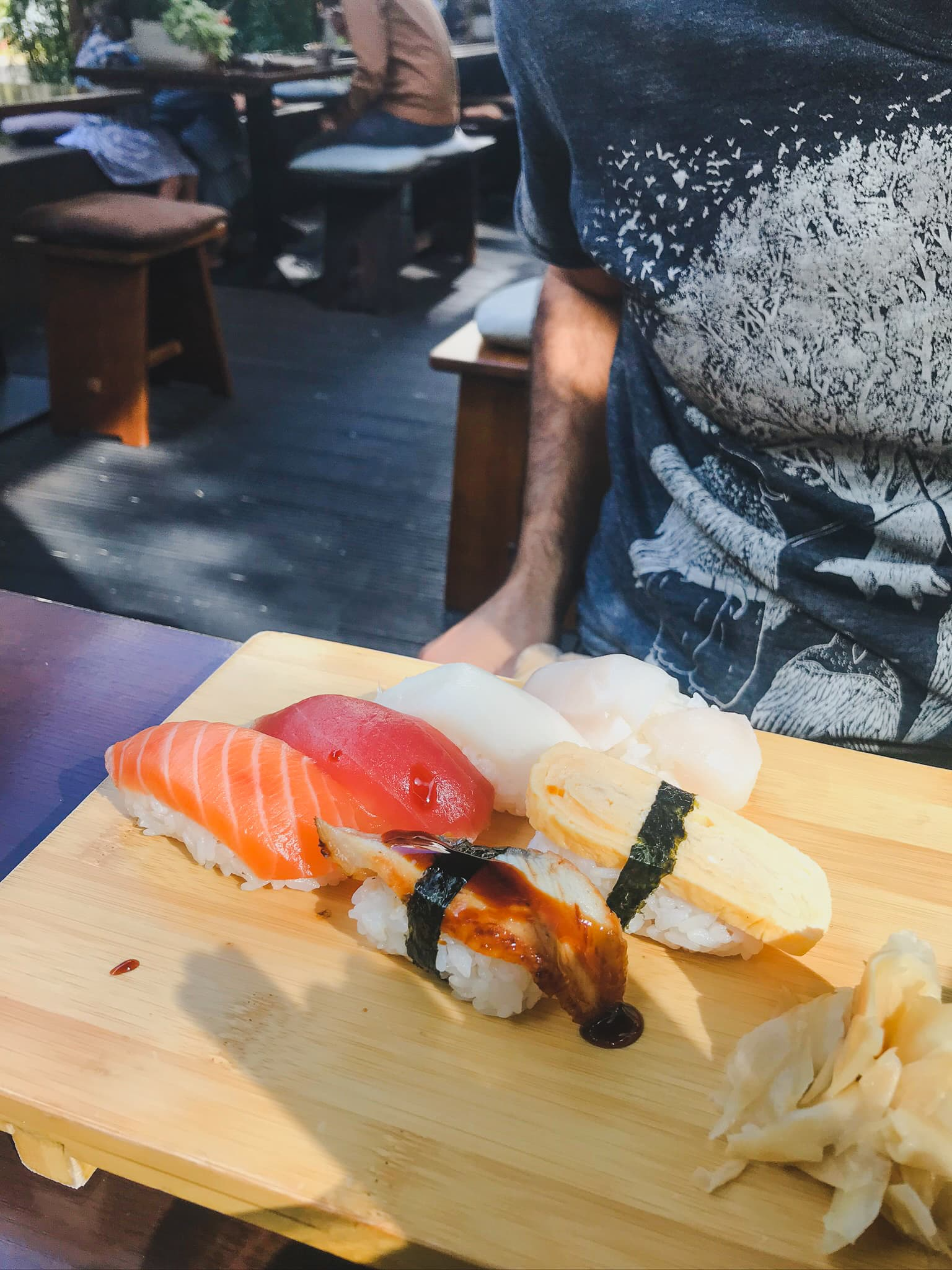 Aiko is the best sushi restaurant to eat in Berlin that offers quality sushi in an authentic Japanese setting
