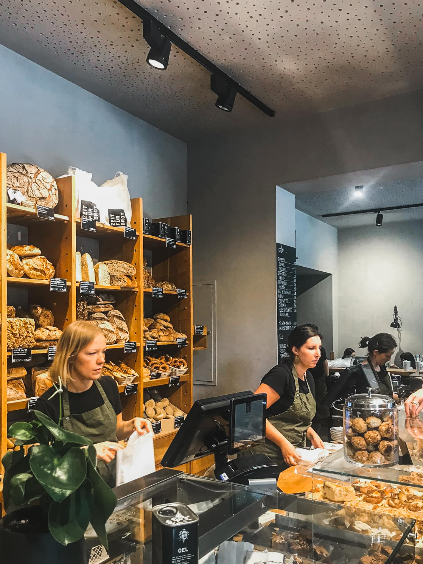 If you love cinnamon rolls, Zeit Für Brot is the best place to eat in Berlin