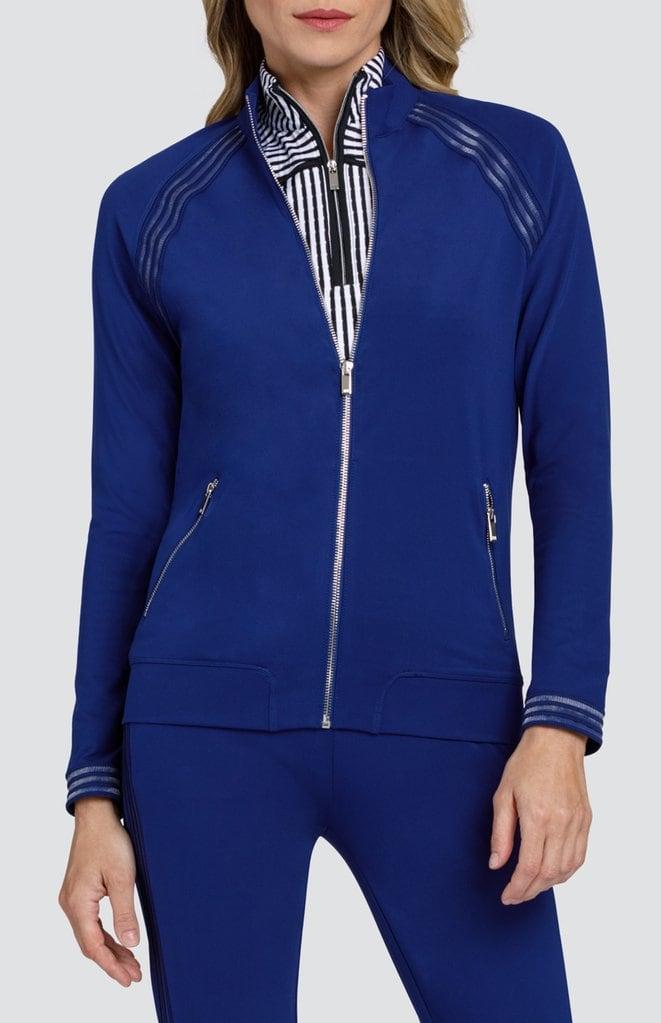 blue golf jacket