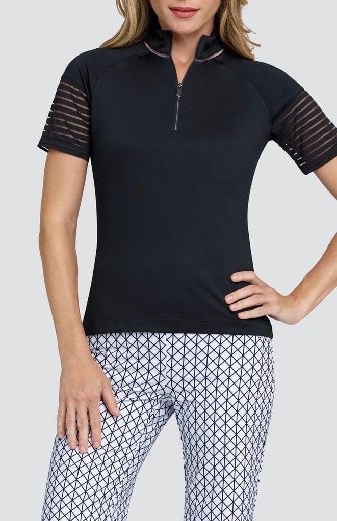 Black Top Golf Attire