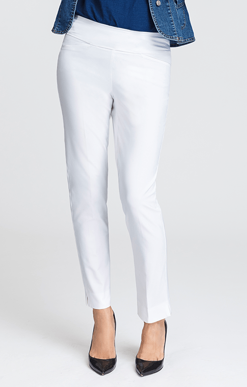 Golf White Ankle Pants