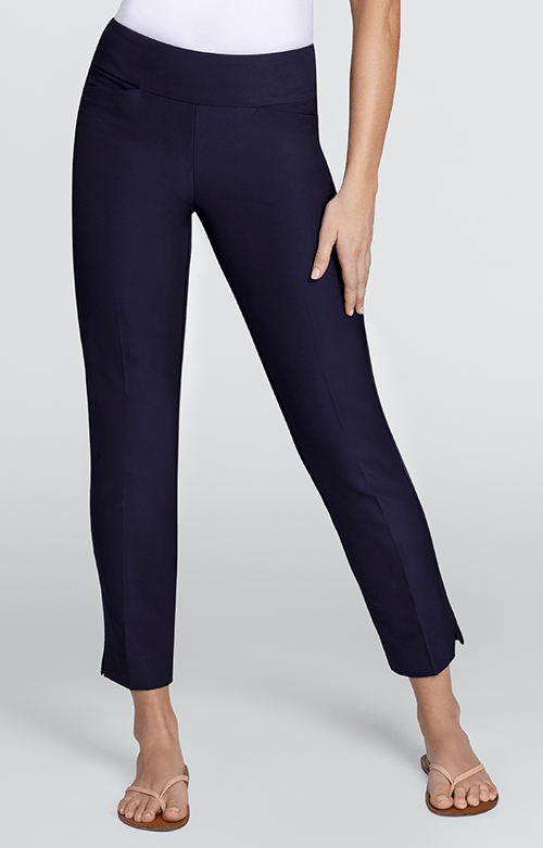 Navy Ankle Pants