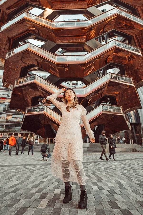 hudson yards is one of the instagrammable places in nyc