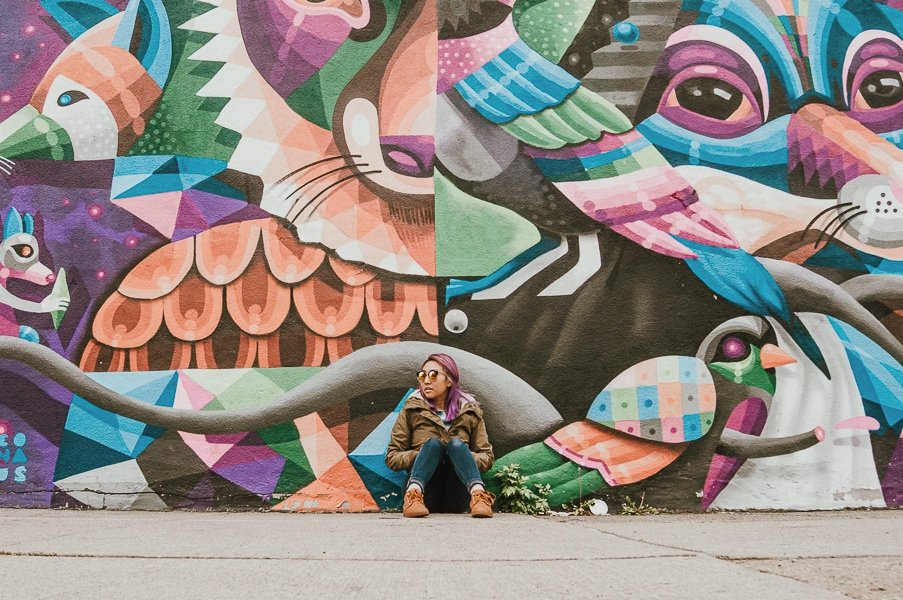 bushwick graffiti and street art to take pictures, Instagrammable places in NYC